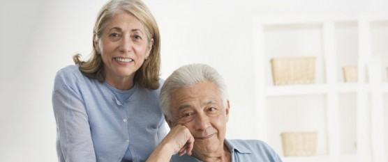 Happy Senior Couple --- Image by © Royalty-Free/Corbis